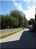 SM7525 : Looking from the Cathedral Close towards St David's by Basher Eyre