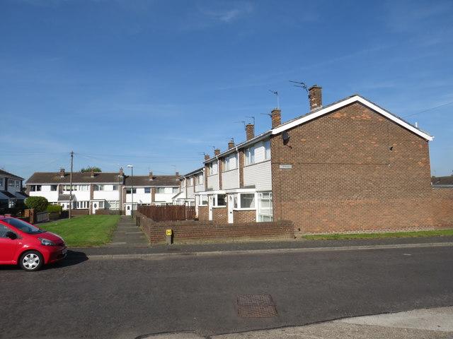 Housing at Fellgate, near Jarrow