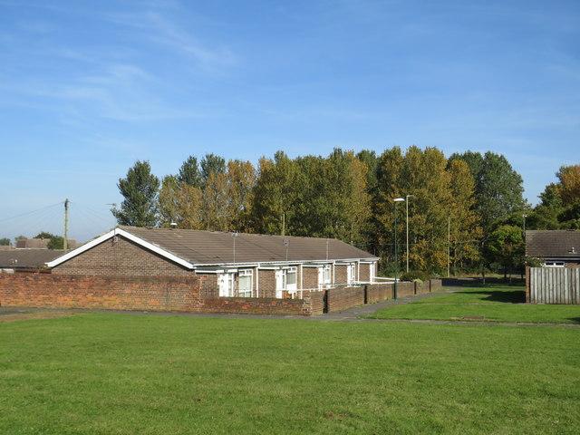 Bungalows at Fellgate, near Jarrow