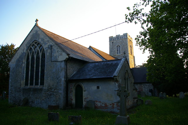 East end of St Michael's church, Rendham