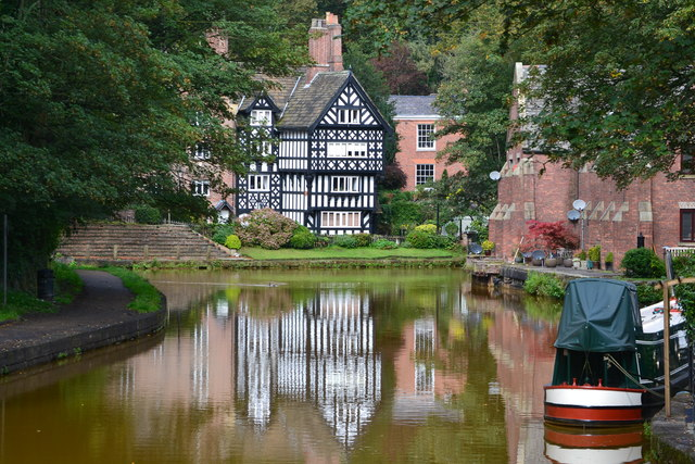 The Packet House and Bridgewater Canal, Worsley