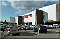 SK3872 : Tesco Extra at Chesterfield by Mary and Angus Hogg