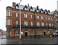 SD1969 : Duke of Edinburgh Hotel at Rawlinson Street / Abbey Road junction by Roger Templeman