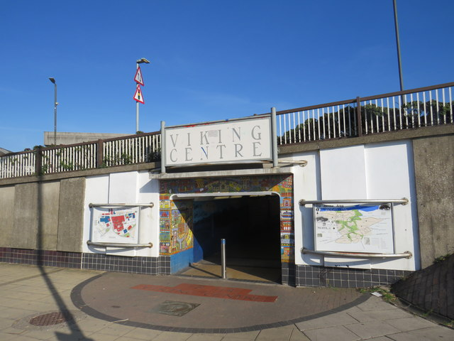 Pedestrian subway, Jarrow