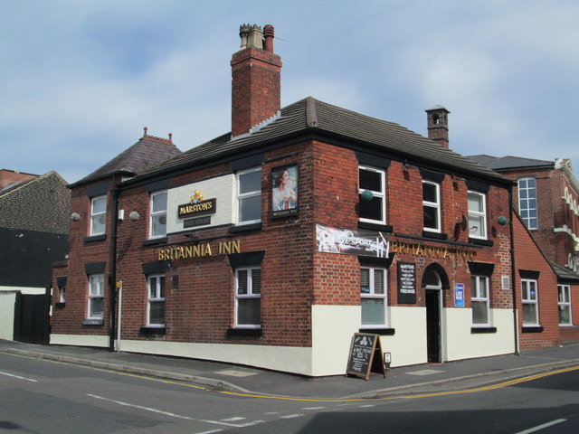 The Britannia Inn, Leek