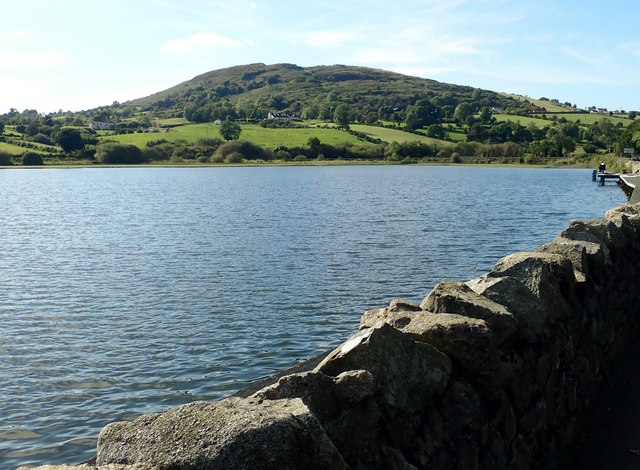 Sturgan Mountain from the northern end of Camlough Lake