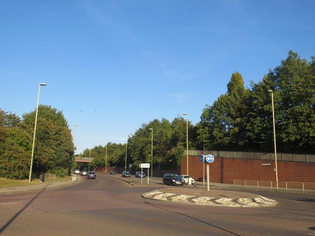 A194 roundabout near South Shields