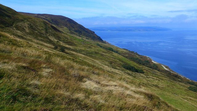 Moorland below Creag Ghlas Cuithe