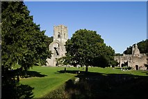 SE2768 : Fountains Abbey by Mark Anderson