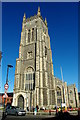TG2142 : Tower of SS Peter & Paul's Church, Cromer by Tiger