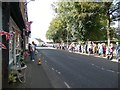 SJ9593 : Watching the Tour of Britain by Gerald England