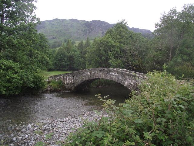 New Bridge crosses the River Derwent