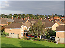 SJ8934 : Housing in Stone, Staffordshire by Roger  Kidd