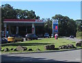 ST0267 : Esso filling station on the south side of the B4265 near St Athan by Jaggery