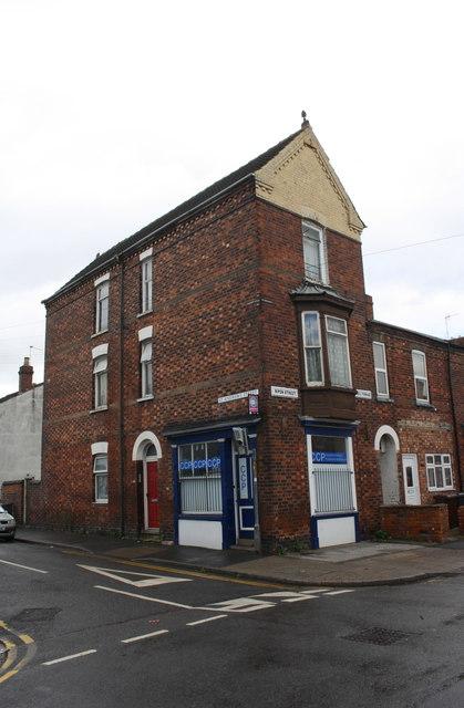#31 St Andrew's Street at Ripon Street junction