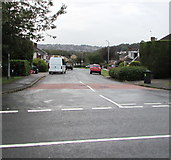 ST3091 : Junction of Rowan Way and Almond Drive, Malpas, Newport by Jaggery