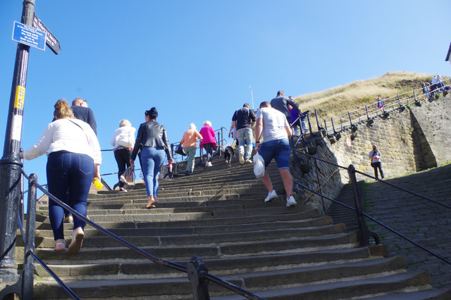 Whitby Abbey Steps