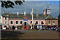 NY4055 : Carlisle market cross and tourist information centre by David Martin