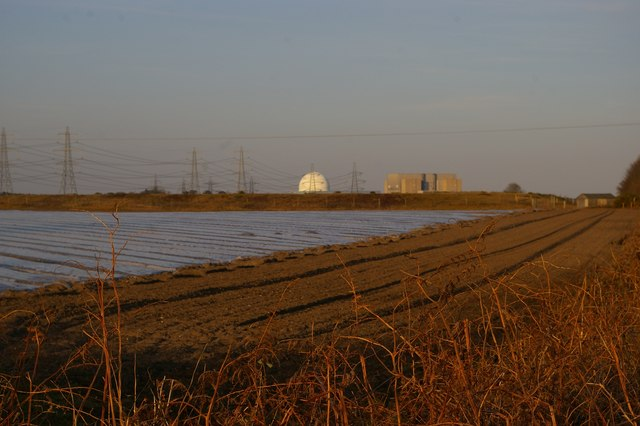 View towards Sizewell from The Walks