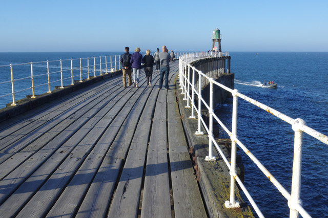 Whitby West Pier Extension