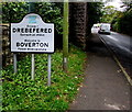 SS9868 : Welcome to Boverton  - Please drive carefully by Jaggery
