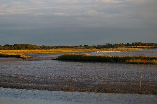 River Alde downstream of Snape