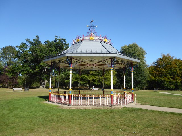Image result for cassiobury park band stand""