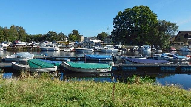 Boats at Balloch