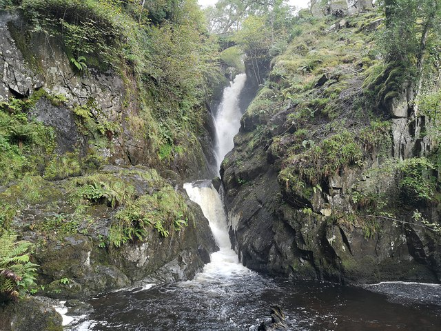 Matterdale : Aira Force Waterfall