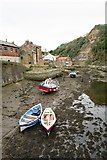 NZ7818 : Staithes Beck by Jim Osley