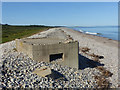 NJ3265 : Pillbox near Kingston by Alan Murray-Rust