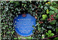 SS9868 : Boverton Place blue plaque, Boverton by Jaggery