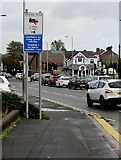 ST3090 : Unsuitable for heavy goods vehicles sign, Malpas Road, Newport by Jaggery