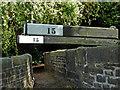 SJ9688 : Bridge and balance beams  at Marple Locks, Stockport by Roger  Kidd