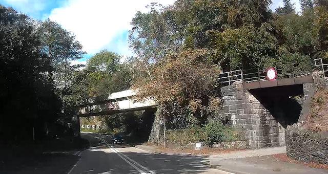 Railway bridges at Wern