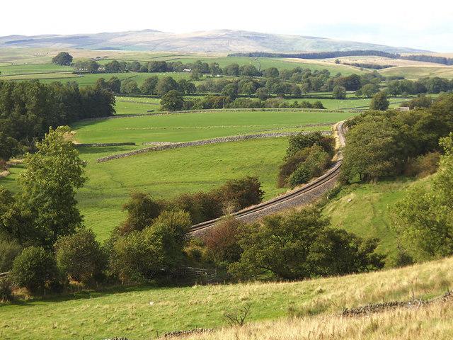 View north-west near Rylstone