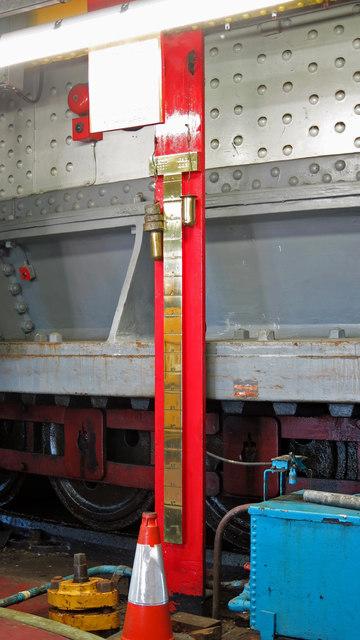 The Swing Bridge - pump room (detail)