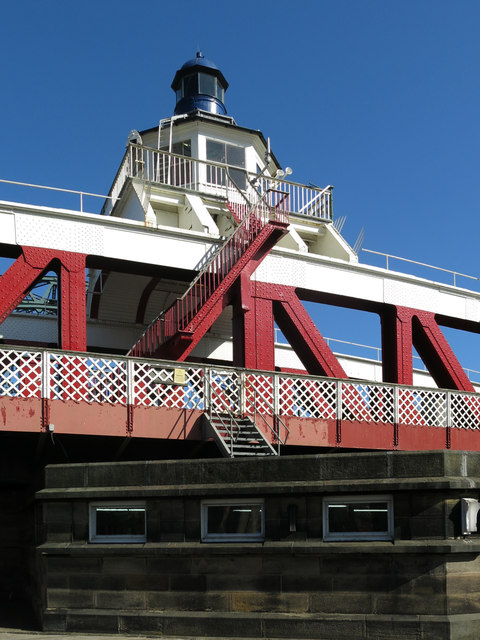 The Swing Bridge - engine room and cupola