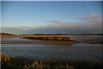 TM3957 : Looking down the River Alde towards Iken, below Snape by Christopher Hilton