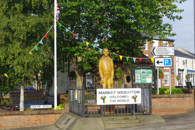 Market Weighton welcomes the world