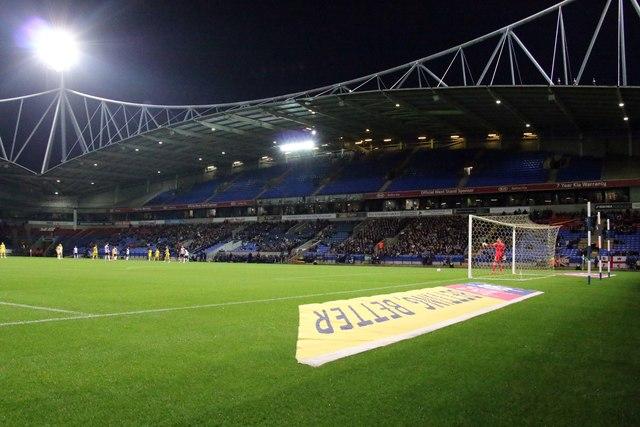 The Bolton KIA North Stand at the University of Bolton Stadium