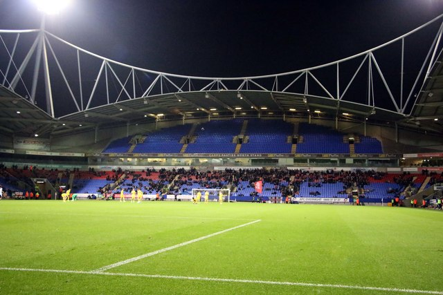 The Carrs Pasties North Stand at the University of Bolton Stadium