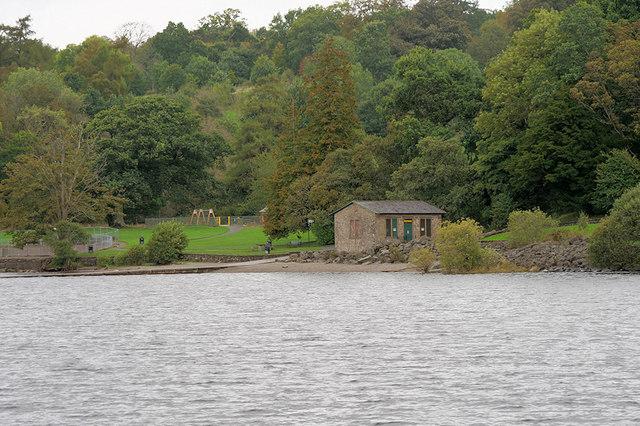 Loch Lomond, Balloch Castle Boathouse