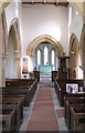 SK9446 : Church of St Nicholas - Nave and Chancel by Bob Harvey