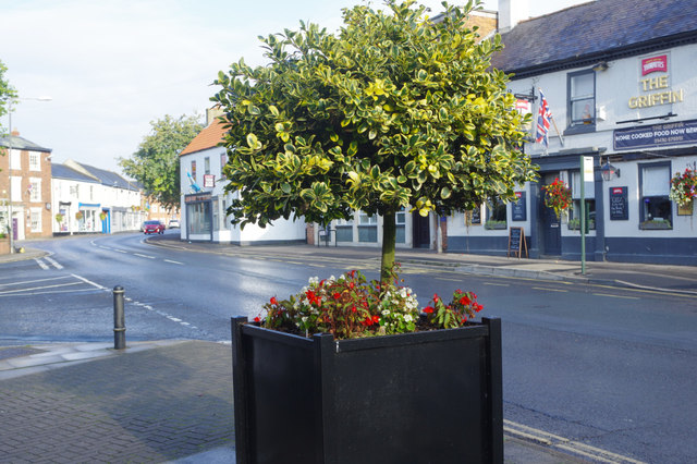 Market Place and York Road, Market Weighton
