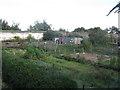 NT2277 : Granton Castle walled garden by M J Richardson