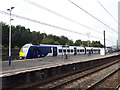 SD9851 : New train on test at Skipton by Stephen Craven