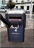 NO5603 : Bigbelly bin by Richard Sutcliffe