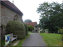 TL8530 : St Andrew, Colne Engaine: churchyard (g) by Basher Eyre