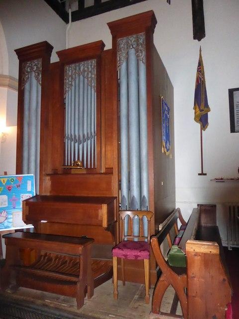 St Andrew, Colne Engaine: organ